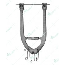 Wire Traction Bows, Adjustable, 175 mm