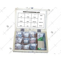 Collection of 9 Moh's Hardness Set