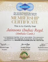Asima Certificate